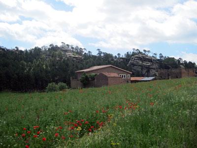 Masía casa forestal de Ligros (Foto de Salvador F. Cava)