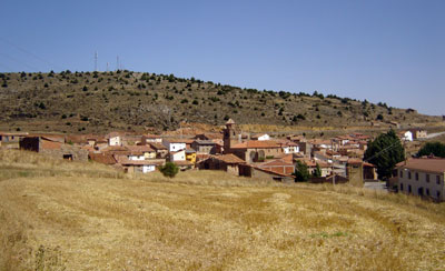 Panorámica de Monterde (Foto de Salvador F. Cava)