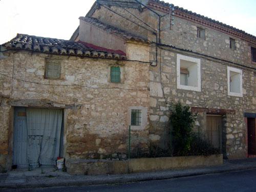 Casa de Alobras donde vivían los guerrilleros