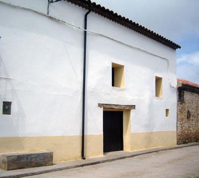 La casa de Jabaloyas donde acaeciesen los hechos del 18/10/48 (Foto de Salvador F. Cava)